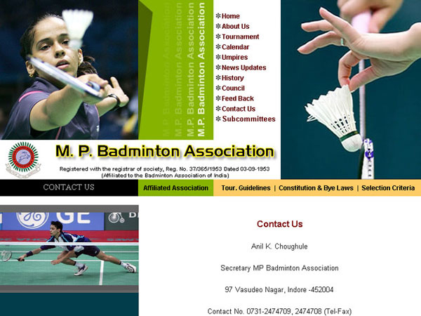 M.P. Badminton Association