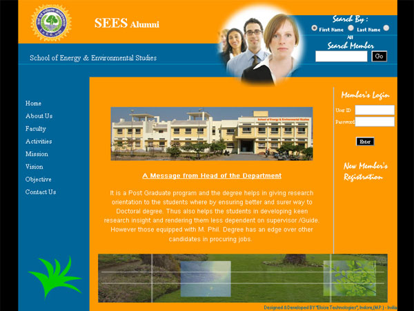 School Of Energy & Environmental Studies, Indore