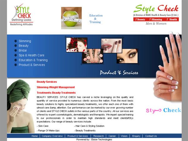 Style Check (I) Pvt. Ltd., Chanadigarh