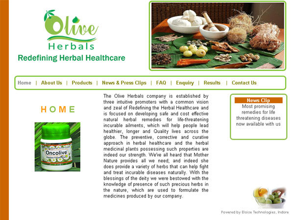 Olive Herbals Pvt. Ltd., Indore